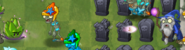 Dartichoke Projectile to Wizard Zombie