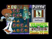 Plants vs. Zombies ZomBoogie Puzzle Classic PC HD (Ep