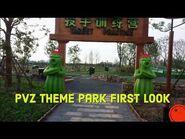 PvZ Theme Park First Look !
