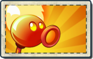 Fire Peashooter Boosted Seed Packet