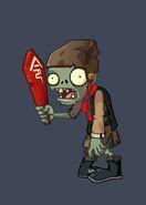 Token Terracotta Zombie