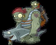 Zombie pirate gargantuan