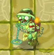 Lost Guide Zombie carrying Plant Food