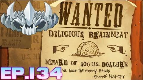Plants vs. Zombies 2 Wanted Delicious Brainmeat - Wild West Day 7 (Ep