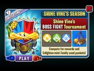 Shine Vine's Shimmer Season - Shine Vine's BOSS FIGHT Tournament