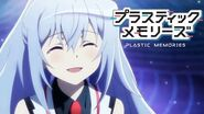 Plastic Memories - Isla's emotion change in the OP