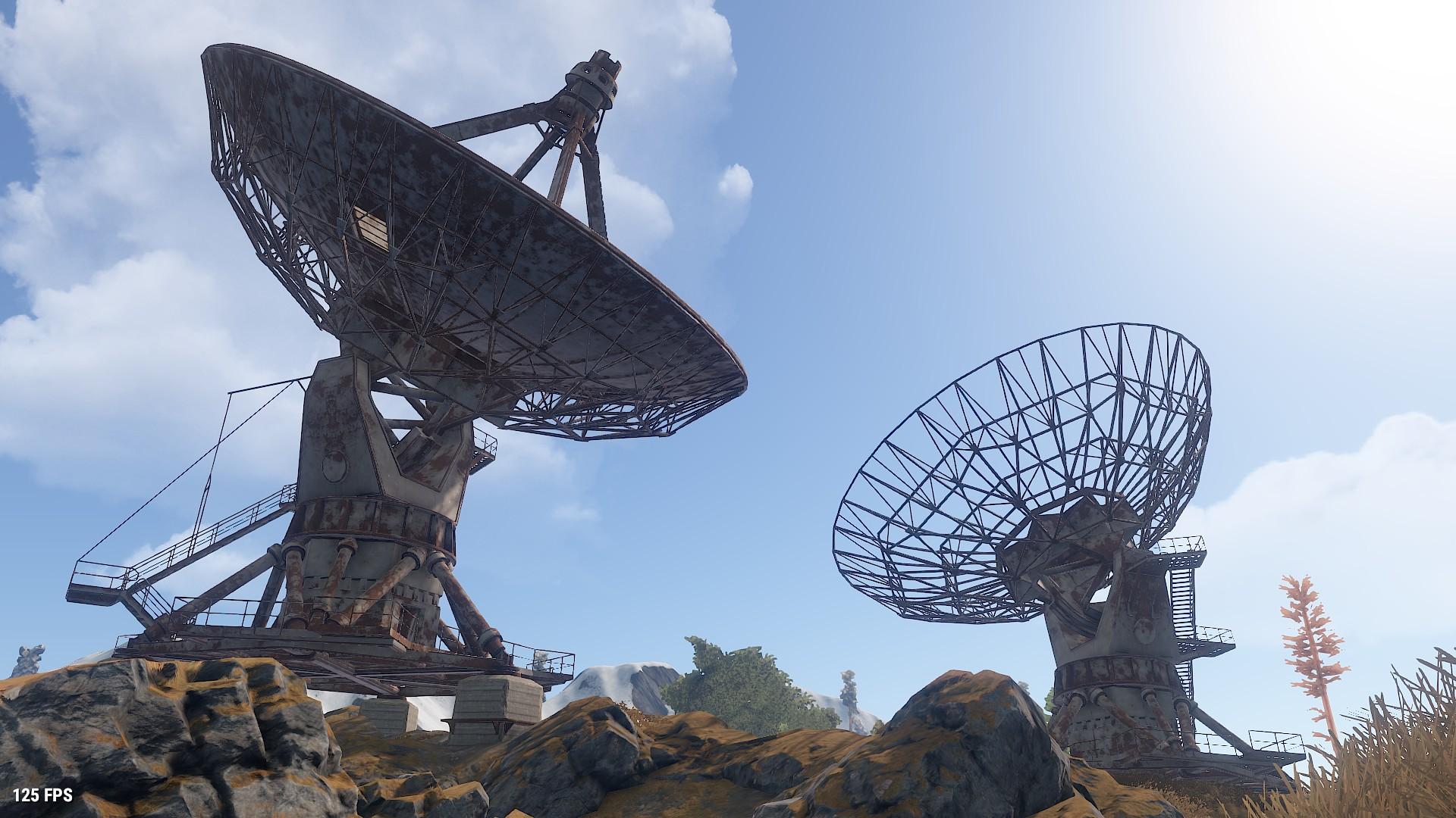 Satellite Dish Array