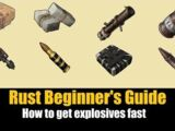 How to get Explosives Fast