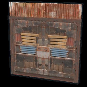 Sheet Metal Double Door Rust Wiki Fandom