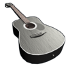 Black Acoustic Guitar icon.png