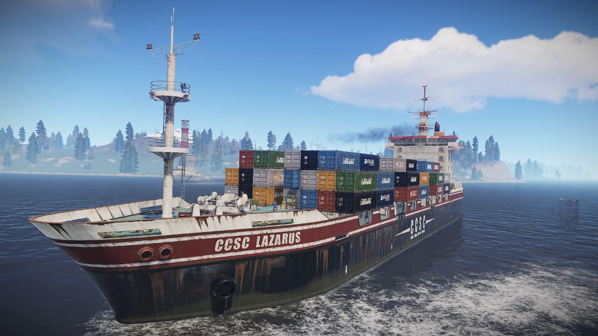 Cargo Ship  Rust Wiki  Fandom