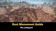 Rust Monument Guide - The Junkyard