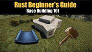 Rust Beginner's Guide - Base Building 101
