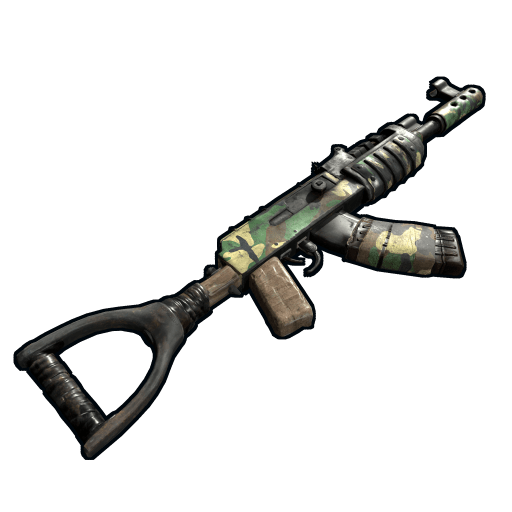Military Camo AK47