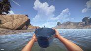 Water Bucket Empty