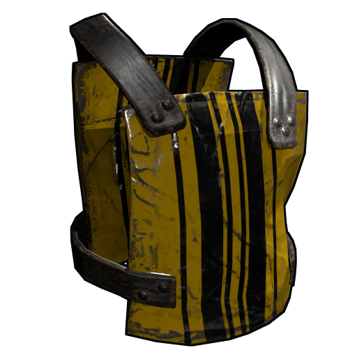 Racing Stripes Chest Plate