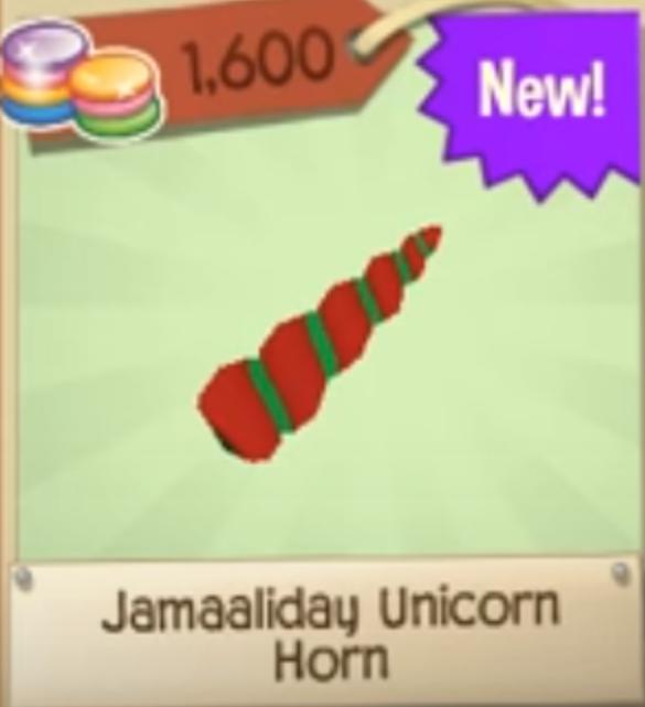 Jamaaliday Unicorn Horn