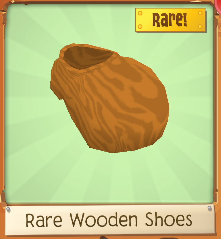Rare Wooden Shoes