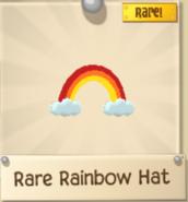 Rare Rainbow Hat