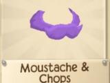 Rare Moustache & Chops