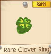 Rare Clover Ring