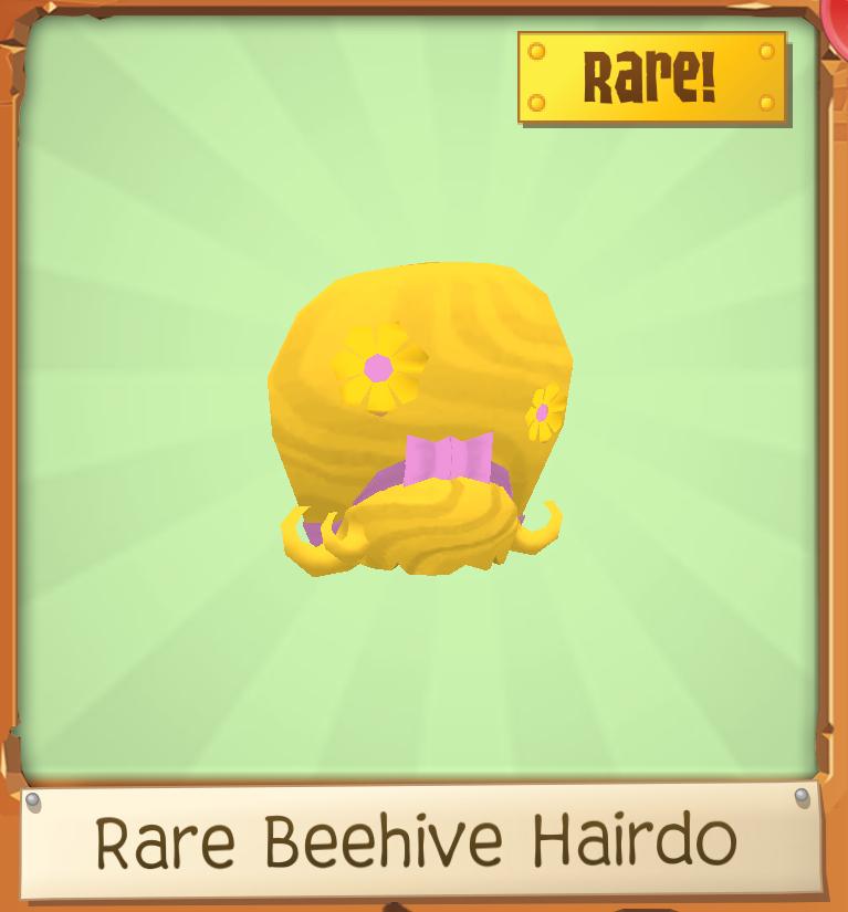 Rare Beehive Hairdo