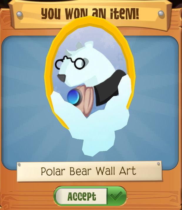 Polar Bear Treasure Hunt