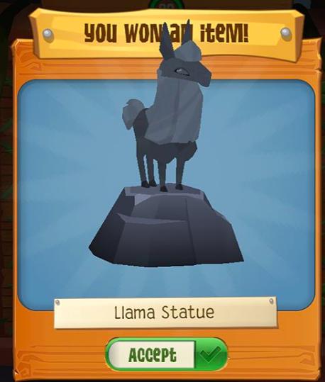 Llama Treasure Hunt