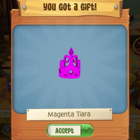 Magenta Tiara