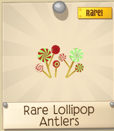 Rare Lollipop Antlers
