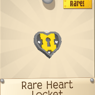 Rare Heart Locket