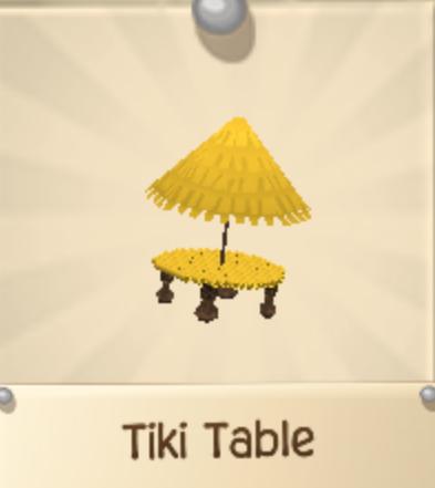 Rare Tiki Table