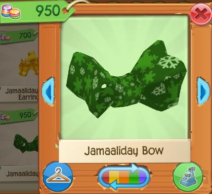 Rare Jamaaliday Bow