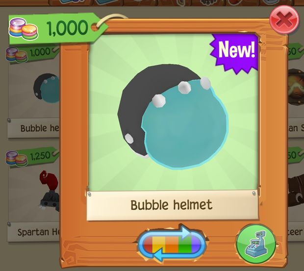 Rare Bubble Helmet