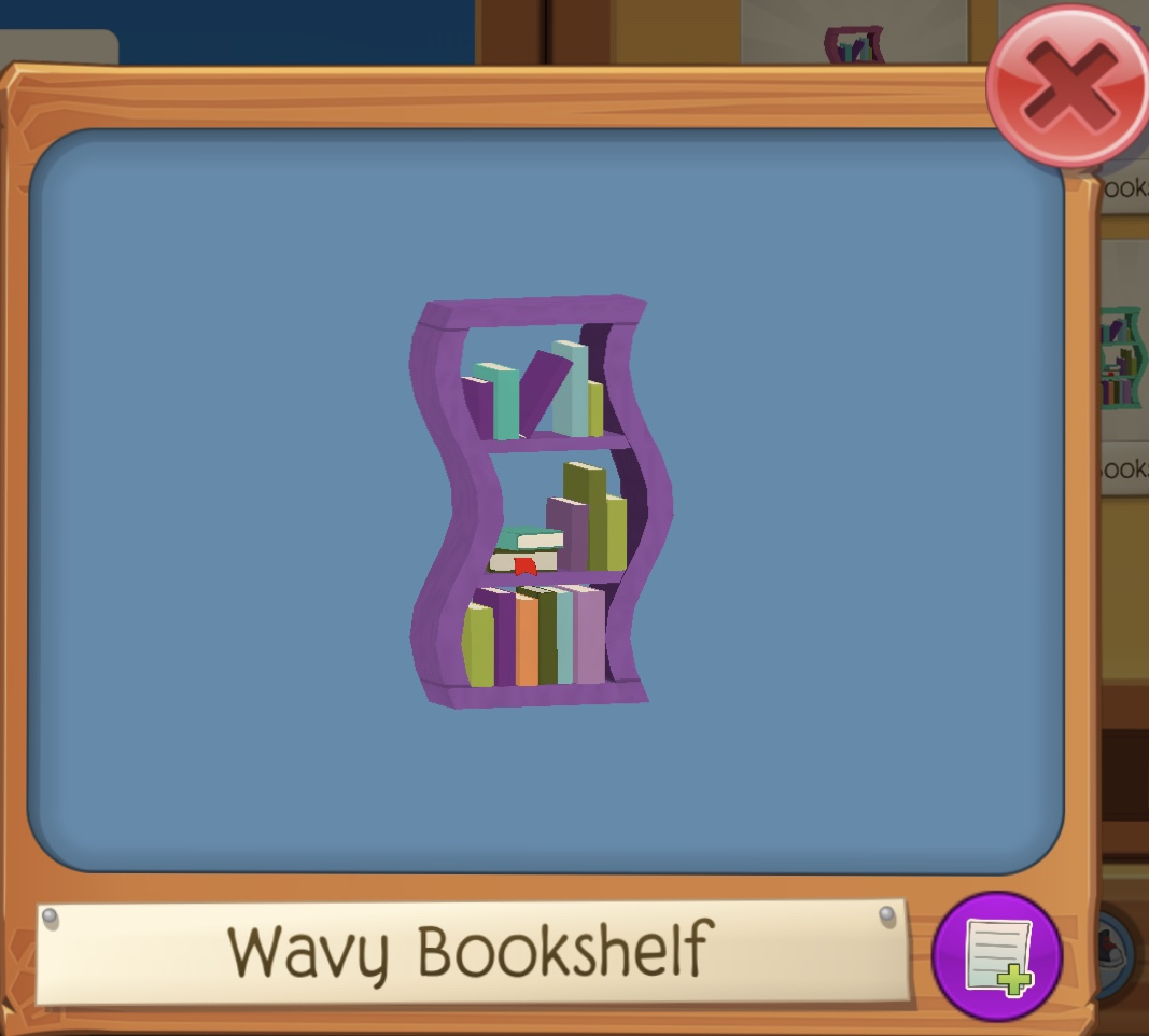Wavy Bookshelf