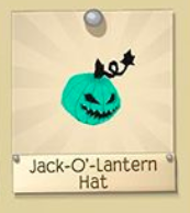 Discontinued Jack-O-Lantern Hat