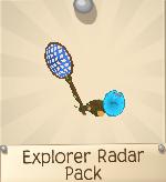 Rare Explorer Radar Pack