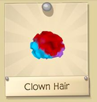 Rare Clown Hair