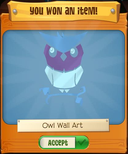 Owl Treasure Hunt