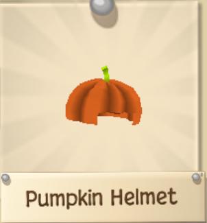 Pumpkin Helmet and Armor