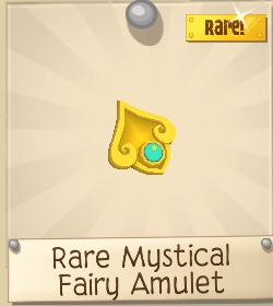 Rare Mystical Fairy Amulet