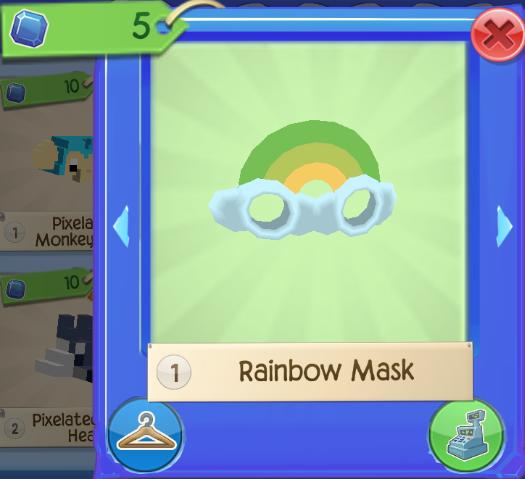 Rainbow Armor Set