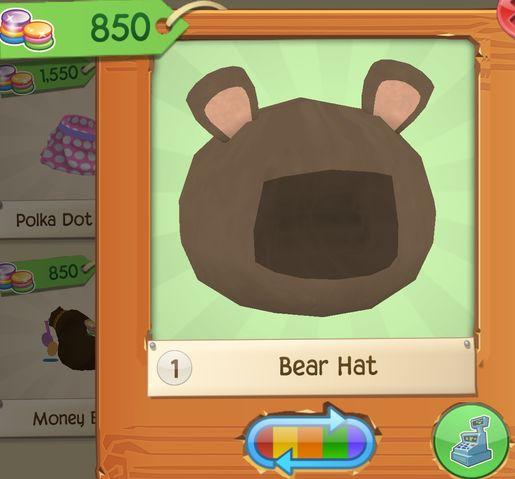 Rare Bear Hat