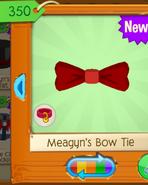 Red pet bowtie