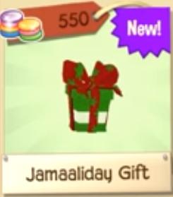 Jamaaliday Gift