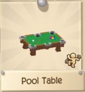 Rare Pool Table