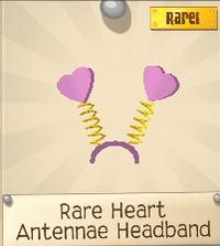 Rare Heart Antennae Headband