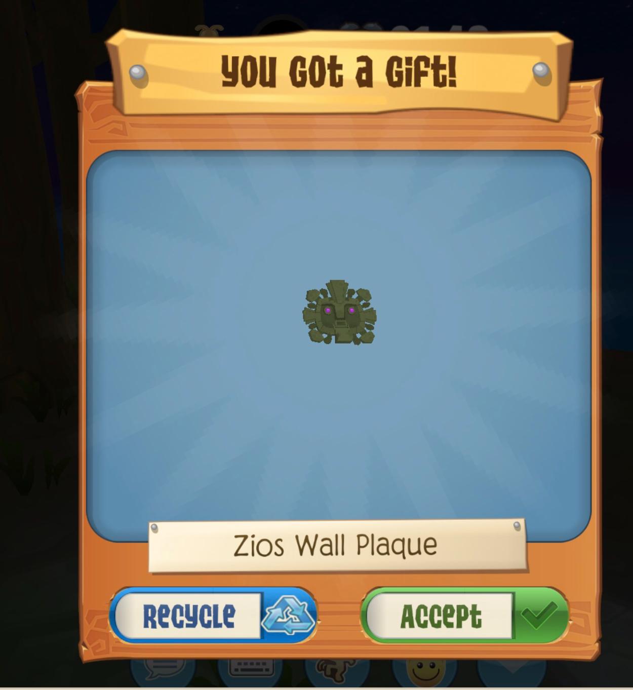 Zios Wall Plaque