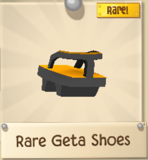 Rare Geta Shoes