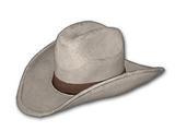 Cowboyhut (Weiß)